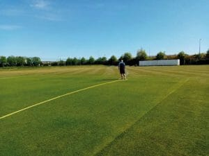Thanks to our groundstaff from Balbriggan Cricket Club