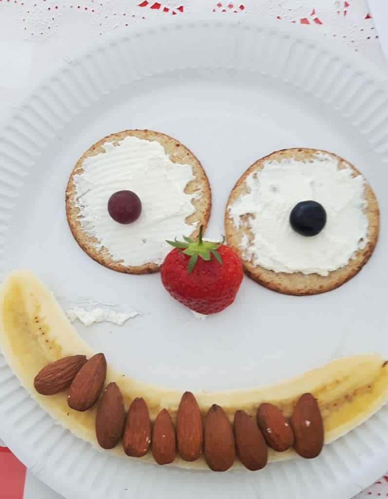 RECIPE: Smiley Face Snack Attack
