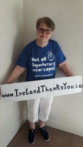 Granny (77) raises thousands for healthcare workers