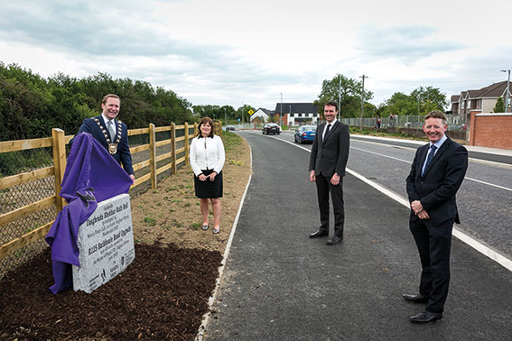 Upgraded Rathbeale Road, Swords officially opened