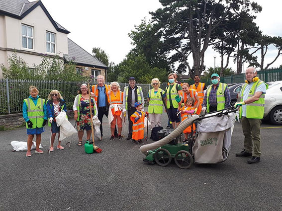 Swords Tidy Towns - Working Through Covid
