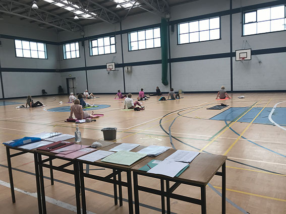 Active Age - 'x' marked the spot in indoor classes