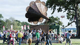 Get In the Groove with the Giant Gramophone