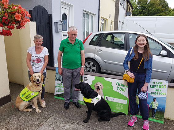 Lusk girl Katie raised money for Guide Dogs