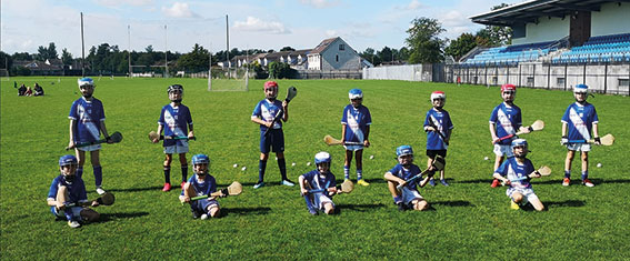 Round Towers young hurlers return to training