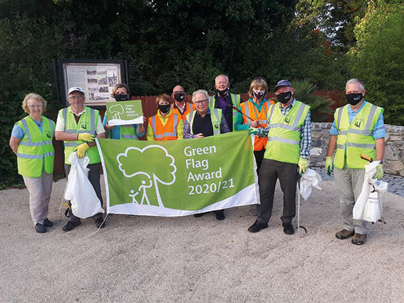 Swords Tidy Towns receive Community Green Flag award