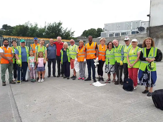 Swords Tidy Towns stil caring for our community!