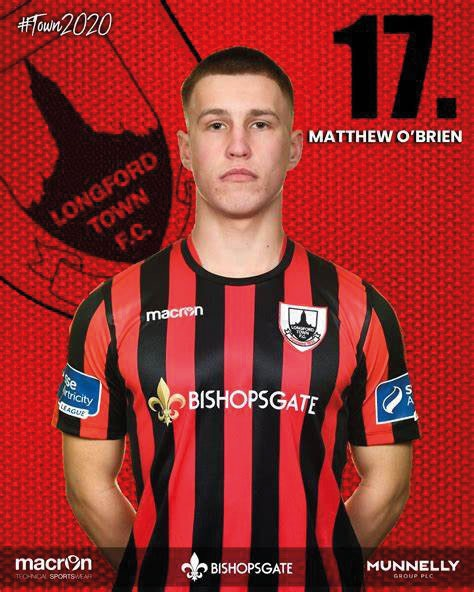 Congratulations and best wishes Matthew from Swords Celtic