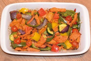 RECIPE: Niamh's Super '7 a Day' Roasted Veg