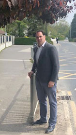 Henchy welcomes new footpaths at Portrane Schools