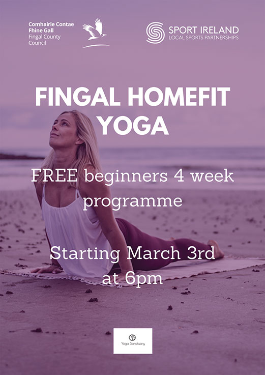 New programme for Fingal HomeFit Yoga