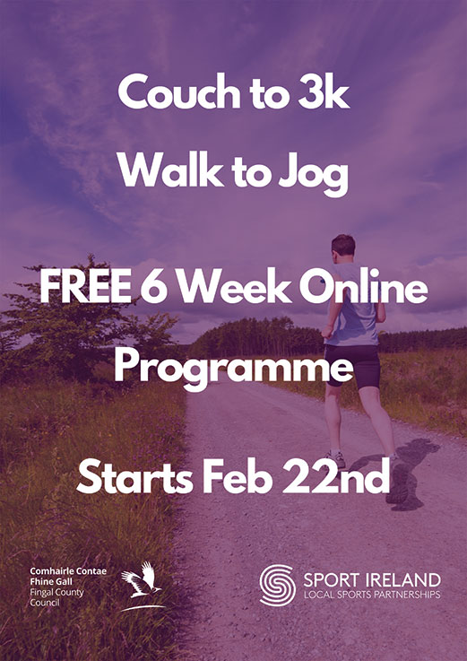 Fingal Couch to 3K – Walk to Jog Programme