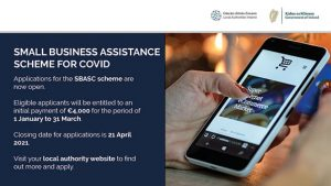 Small Business Assistance Scheme for Covid [SBASC] open for applications