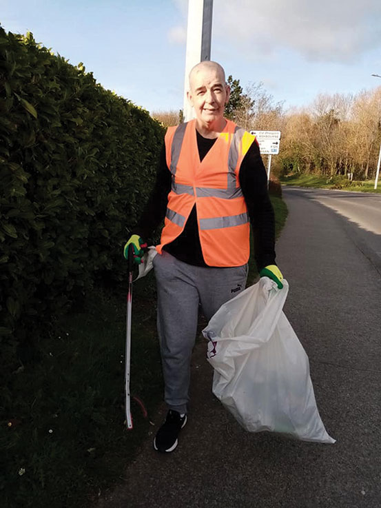 Swords Tidy Towns still working for you !
