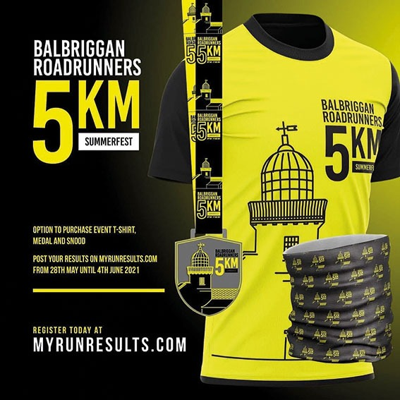The Balbriggan Roadrunners Summerfest 5km fun run