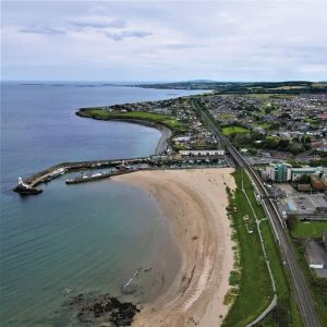 Strolling on the beaches in Balbriggan after lockdown