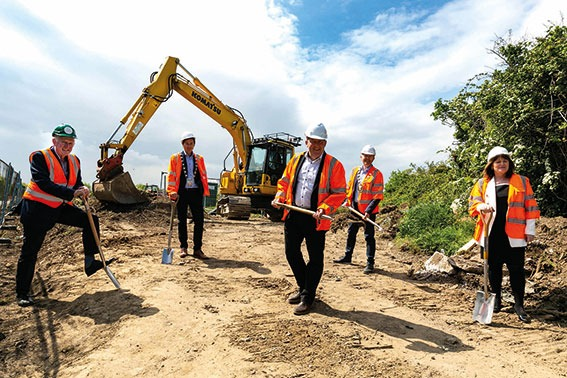 First sod turned on Affordable Housing Scheme at Dun Emer, Lusk