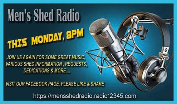 Men's Shed Radio is here for you now!