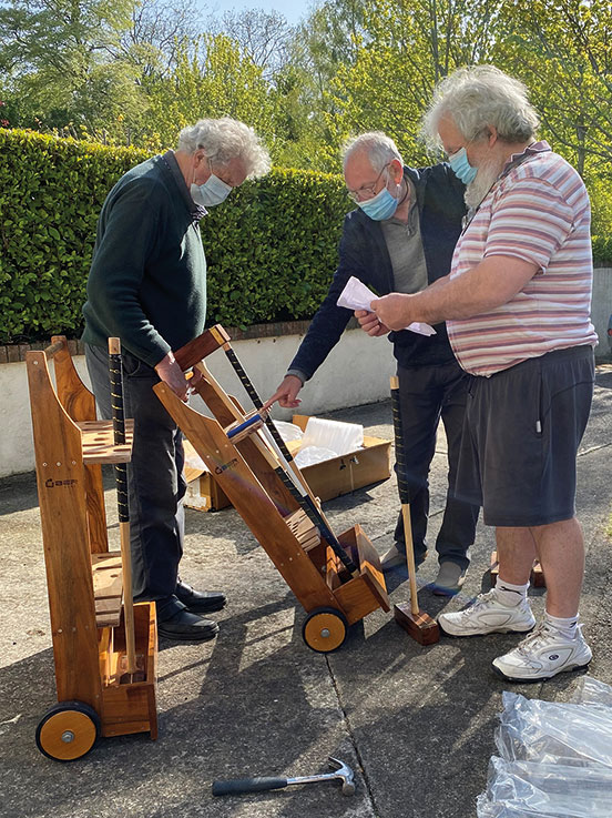 Men's Shed to the rescue of AAfA