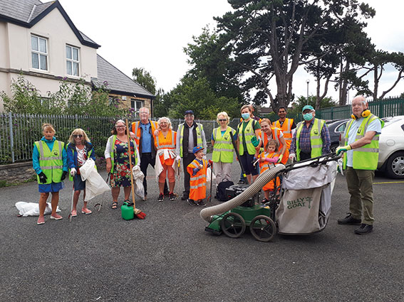 Swords Tidy Towns -  Going for gold in 2021