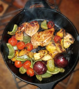 RECIPE - Niamh's Rosemary, Thyme and Black Pepper Summer Chicken