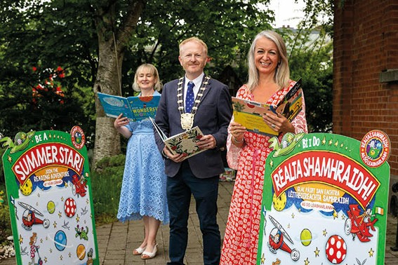 Launch of Fingal Libraries' Summer Stars Summer Reading Programme