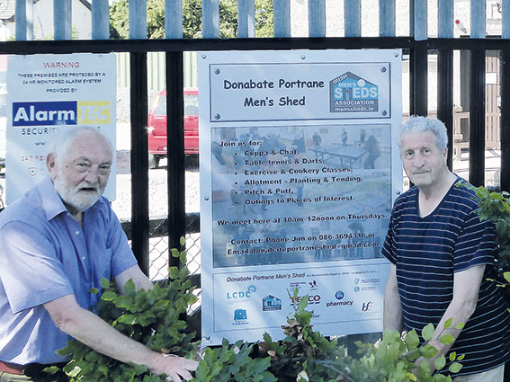 Men's Shed Prepare for Re-Opening