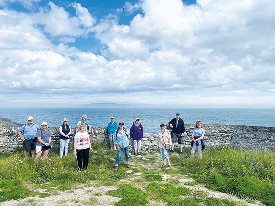 Peninsula Pacers - monthly walks have returned