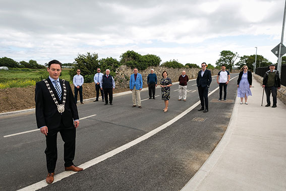 Deputy Mayor officially opens upgraded Park Road in Rush