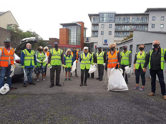 Swords Tidy Towns getting ready for Competition Judging