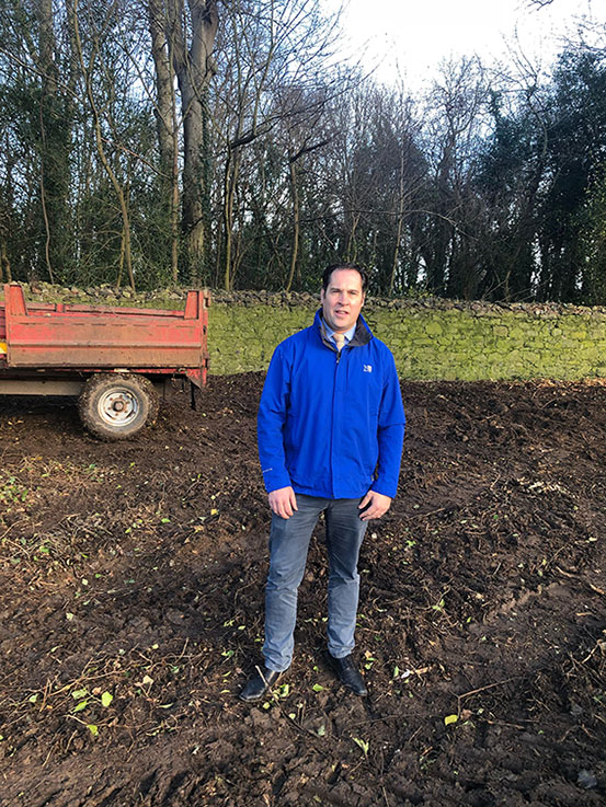 Henchy welcomes commencement of works at Newbridge House