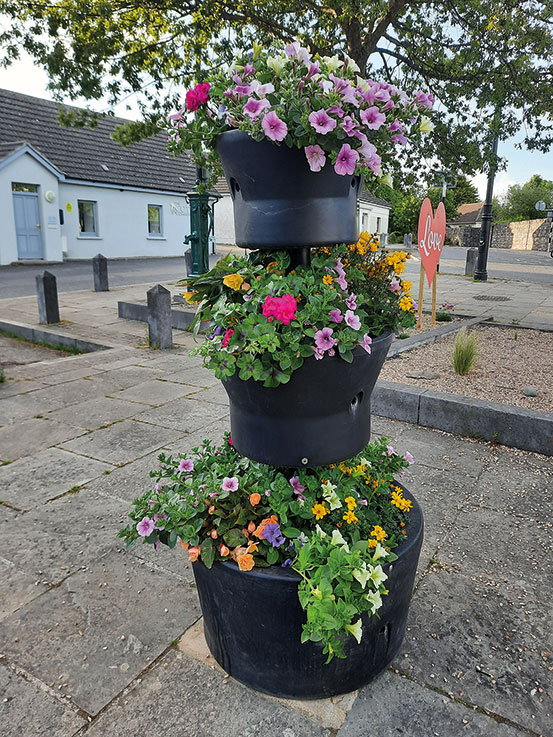 A busy time at Lusk Tidy Towns Group!