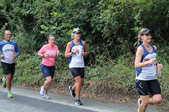 Lusk AC returned to competitions in July Lusk Athletic Club half marathon a great success!