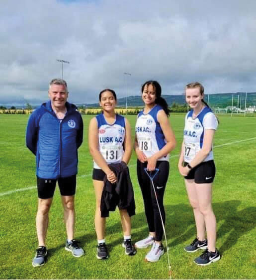 Lusk AC returned to competitions in July