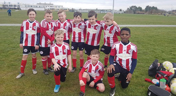 Lusk United Under 10's have their say