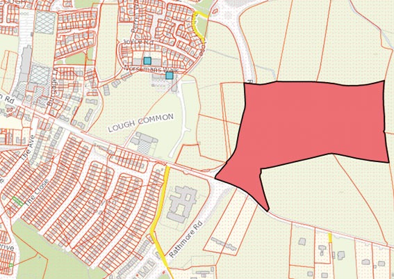 Cllr O'Donoghue inquired on plans for land on the Rathmore Road