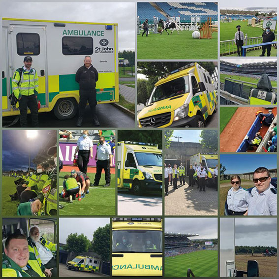 St John Ambulance providing cover for all your events