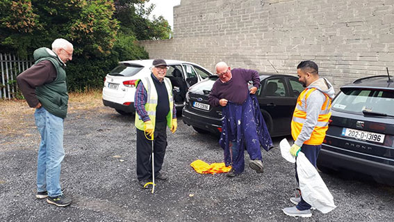 Swords Tidy Towns – Working hard for you!