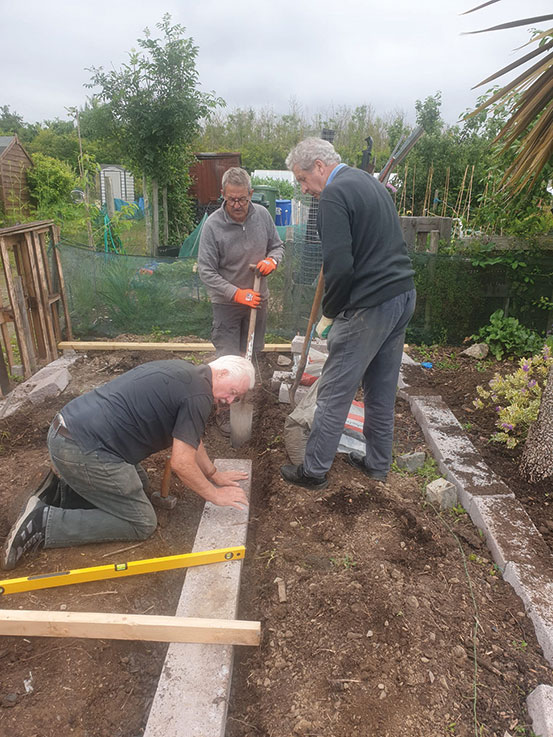 Men's Shed Work Hard to Provide a Place to Rest