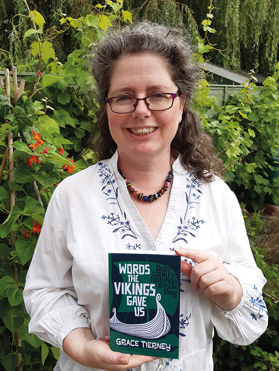 """Grace Tierney's new book """"Words The Vikings Gave Us"""""""