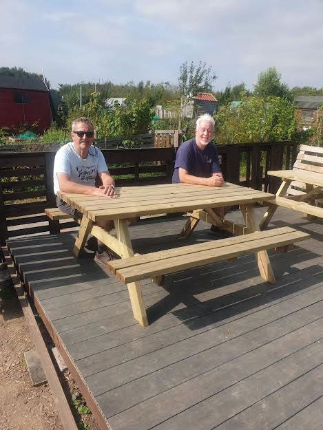 """Men's Shed Almost back to """"Normal""""!"""